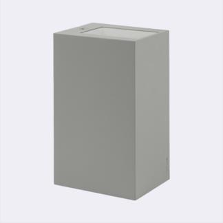 Kinkiet Lillehammer - srebrny, LED, IP65