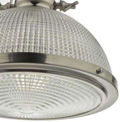 szklana lampa industrialna