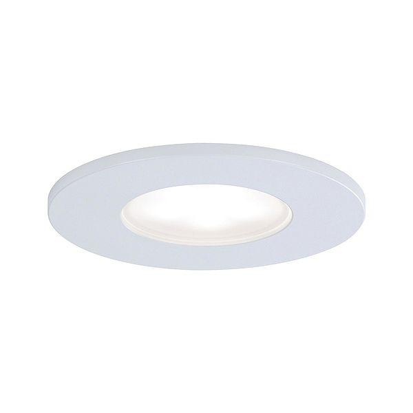 okrągłe białe oczko