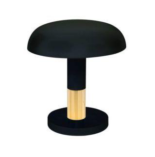 Nowoczesna lampa biurkowa Fungo - czarna