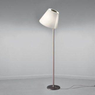 Lampa podłogowa Melampo - brąz, ecru