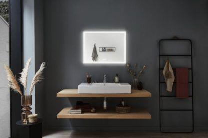 ledowe lustro łazienkowe podgrzewane
