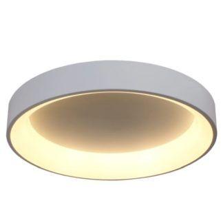 Biały plafon Georgia - LED, 3000K