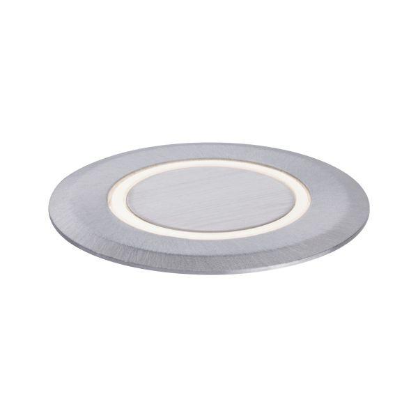srebrna okrągła oprawa najazdowa