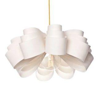 Lampa wisząca Fiora 50 - biały klosz