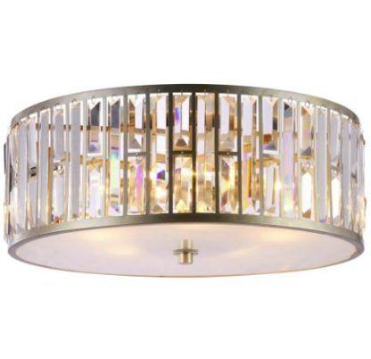 kryształowy plafon glamour