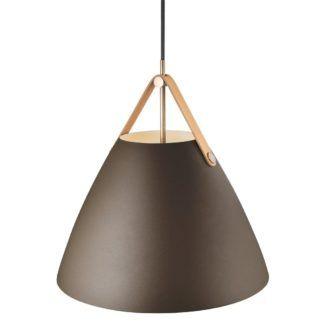 Lampa wisząca Strap 36 - DFTP Nordlux - brązowa