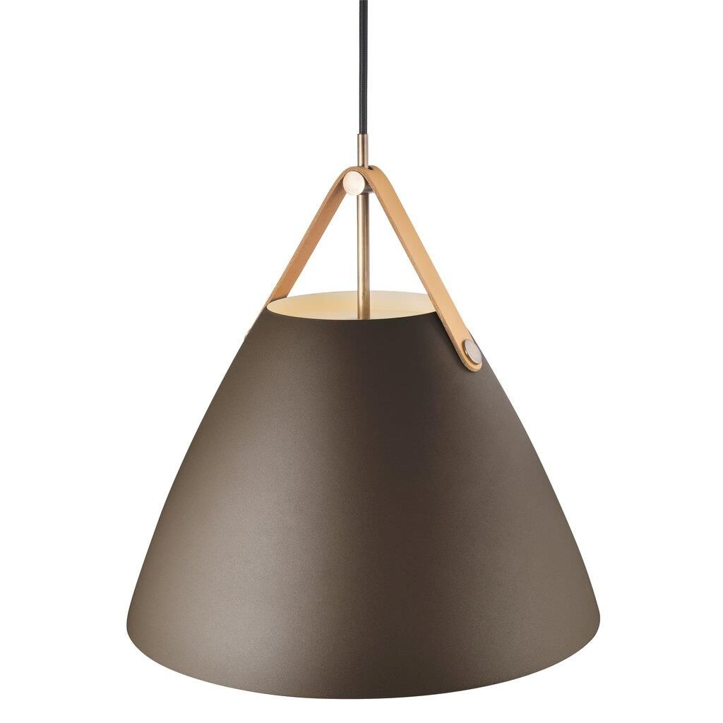 lampa brązowa do salonu wabi sabi