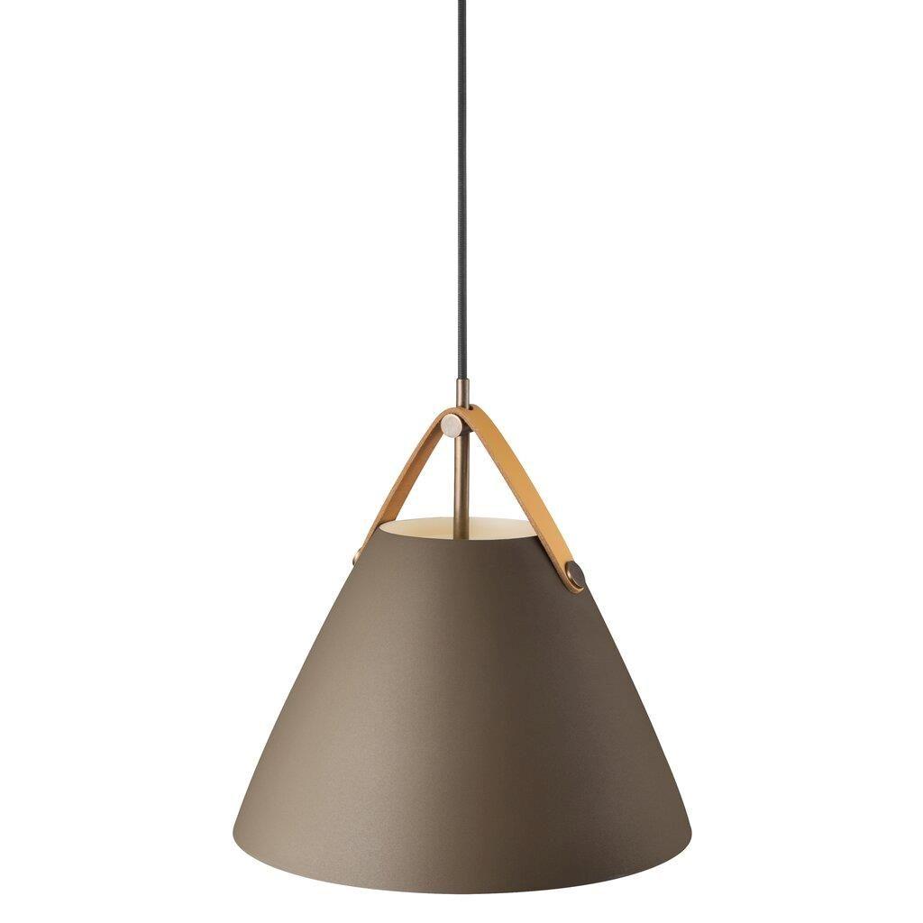 lampa wisząca z otwartym kloszem do wabi sabi