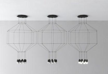 lampa wisząca nowoczesna geometryczna bryła