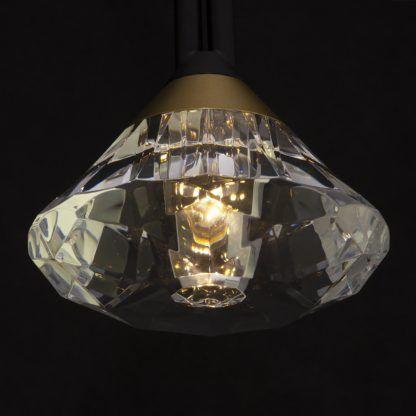 lampa wisząca z kryształami