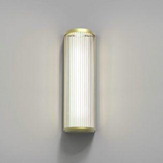Kinkiet Versailles 400 LED - Astro Lighting - złoty, szklany klosz