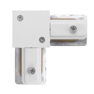 Łącznik kątowy Profile - biały system szynowy