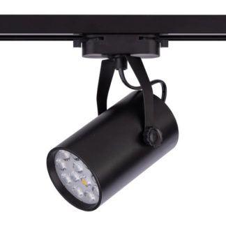 Czarny reflektor Store Pro LED - system szynowy - czarny