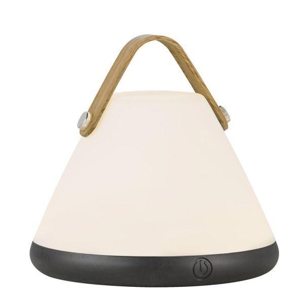 przenośna lampa stołowa stożek