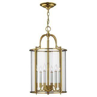 Duża lampa wisząca Gentry - złota