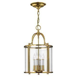 Gentry - lampa wisząca klasyczna, złoty połysk