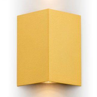 Metalowy kinkiet Skiatos - złoty