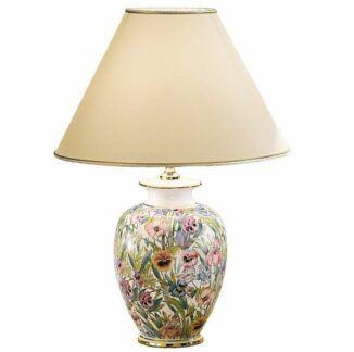 Lampa stołowa GIARDINO PANSE M - Kolarz - ceramika, tkanina