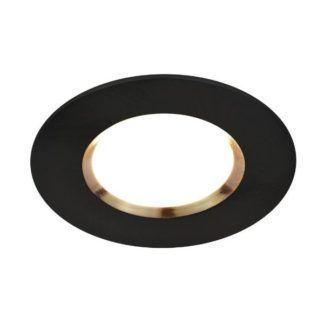 Czarne oczko sufitowe Dorado - Smart Light, bluetooth, IP65
