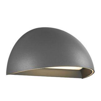 Szary kinkiet Arcus - LED, bluetooth, smart light