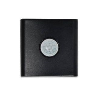 Czarny czujnik Smart Light - ruch i śwatło