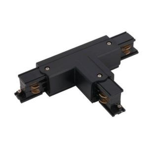 Łącznik T - prawy, czarny, system CTLS