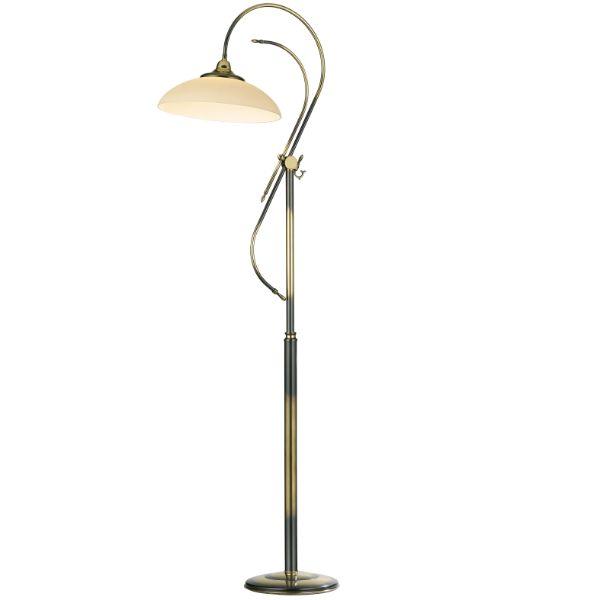 Lampa podłogowa Onyx - patyna połysk, klasyczny design