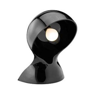 Czarna lampa stołowa Dalu Tavolo - tworzywo, nowoczesny design