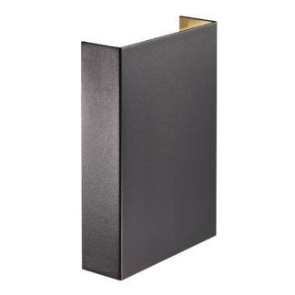 Czarny kinkiet Fold 15 - Nordlux - LED, IP54