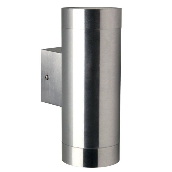 srebrny kinkiet tuba