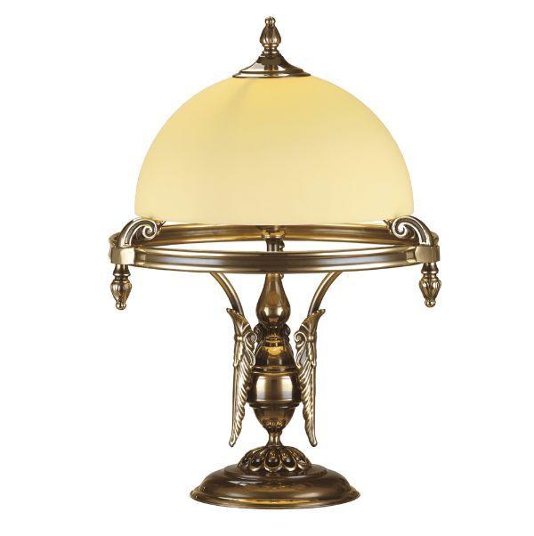 Luksusowa lampa biurkowa Cordoba I - patyna w połysku