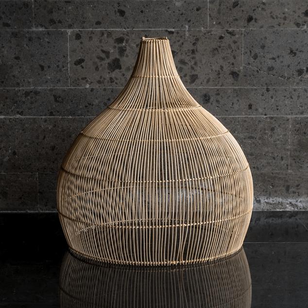 lampa wisząca rattanowa w stylu boho BOB Monnarita