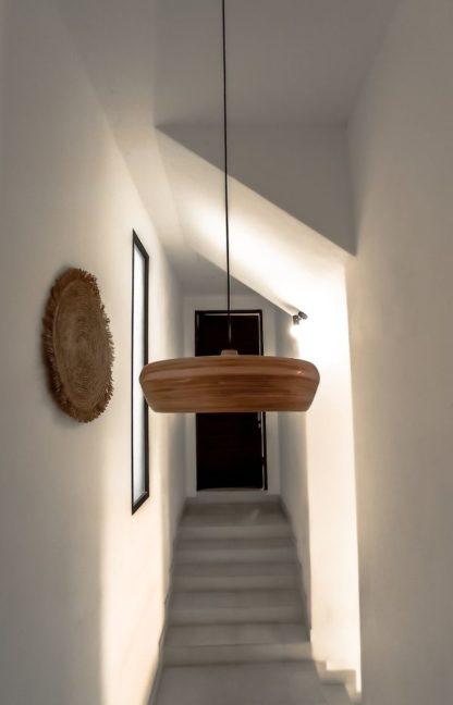 naturalna lampa wisząca bambusowa