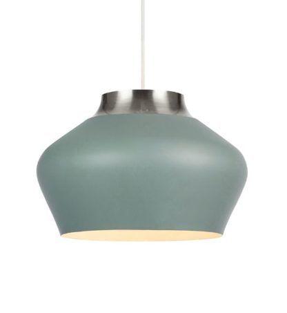niebieska lampa wisząca do kuchni