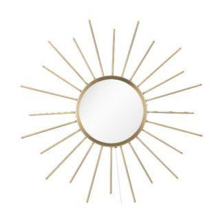 Dekoracyjne lustro Blossom - delikatne podświetlenie