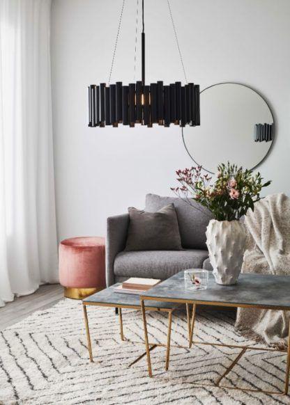 luksusowa lampa do nowoczesnego salonu