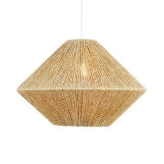 Lampa wisząca Straw - rattan, styl boho