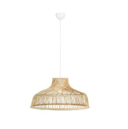lampa wisząca boho naturalna