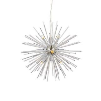 Oryginalna lampa wisząca Soleil - srebrna