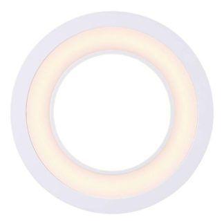 Nowoczesne oczko sufitowe Clyde 15 - wpuszczane,  3-stopnie światła