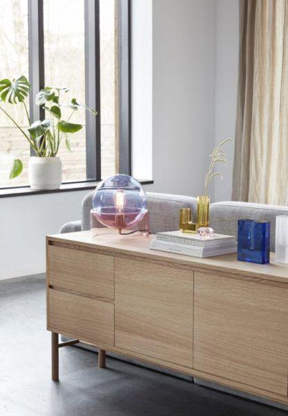 lampa stołowa kolorowe szkło