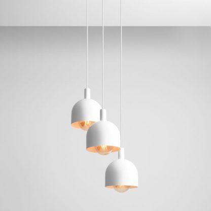 potrójna lampa wisząca do kuchni