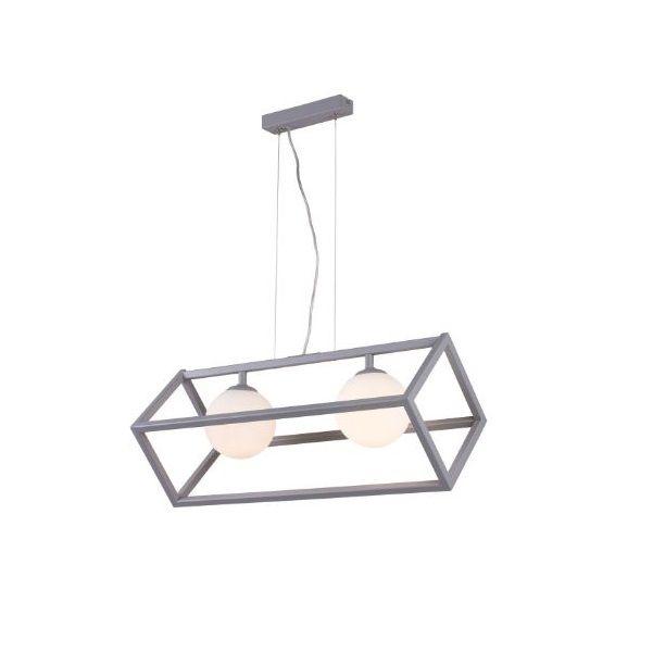 geometryczna lampa wisząca do kuchni