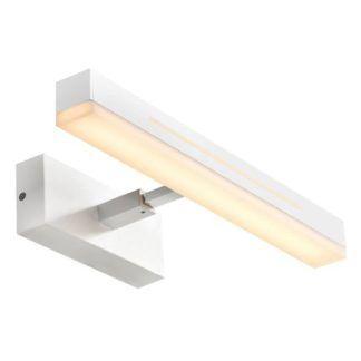 Biały kinkiet łazienkowy Otis 40 - Nordlux, LED, IP44, nocne światło
