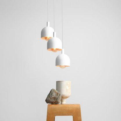 okrągła lampa wisząca do jadalni