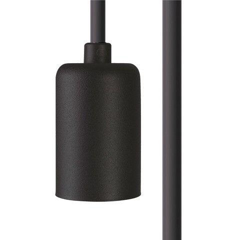 czarne zawieszenie do lamp