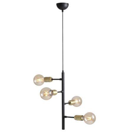 pionowa industrialna lampa wisząca
