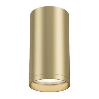 Nowoczesny spot sufitowy Focus S - matowe złoto