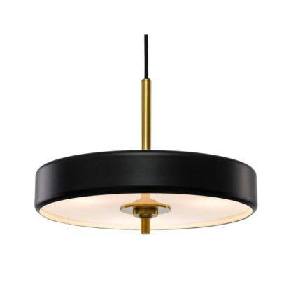 czarna elegancka lampa wisząca modern classic